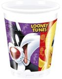 Poháre Looney Tunes 200ml 8ks
