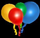 Gumové balóny bez potlače