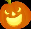 Halloweenske nálepky a dekorácie