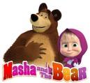 Masha a medveď