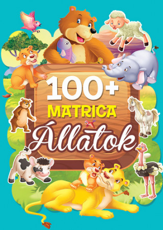 100+matrica Állatok (Maďarská verzia)