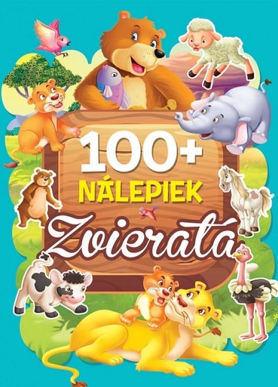 Kniha s nálepkami 100+ zvieratá