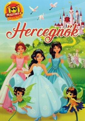 101 Fejtörő matricákkal-Hercegnők (Maďarská verzia)