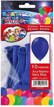 Balóny modré - 10ks