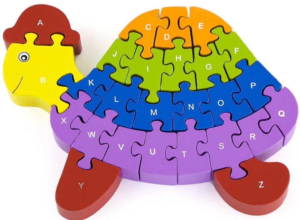 Viga 3D Puzzle korytnačka