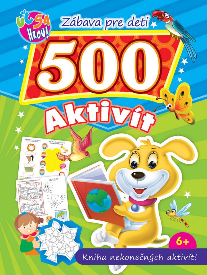 Psík, zábavná kniha pre deti. 500 nekonečných aktivit