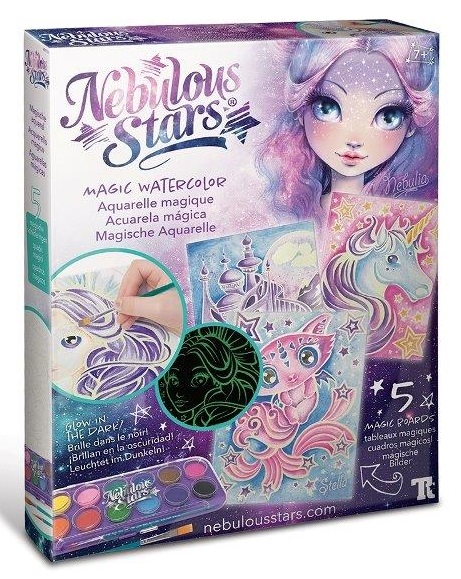 Nebulous Stars Magický akvarel Nebulia