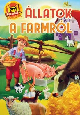 101 fejtörő matricákkal-Állatok a farmról (Maďarská verzia)