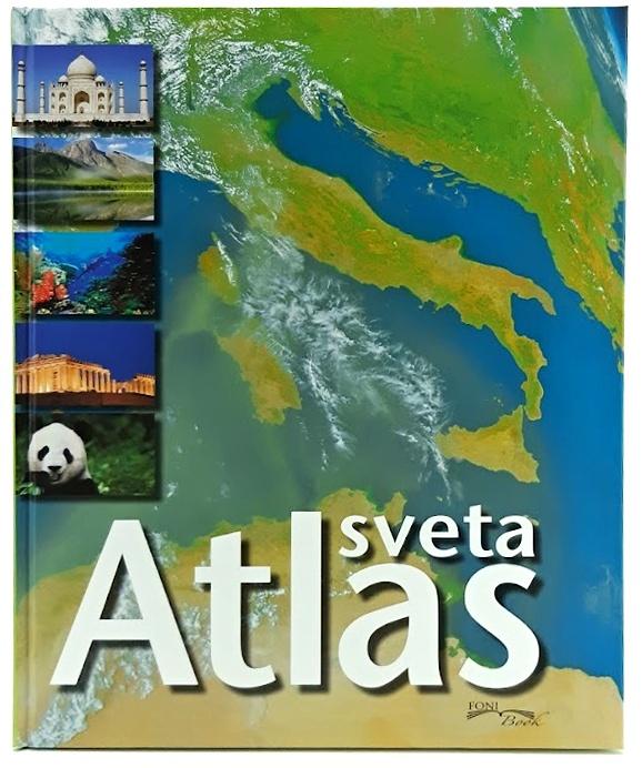Foni book Atlas sveta 72 strán