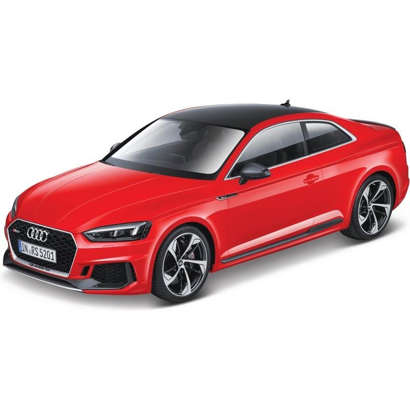 Bburago auto Audi RS 5 Coupé 1:24 červené