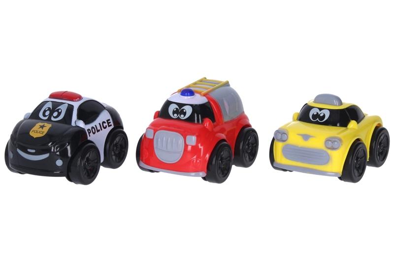 Auto na zotrvačník 9cm - hasičské auto