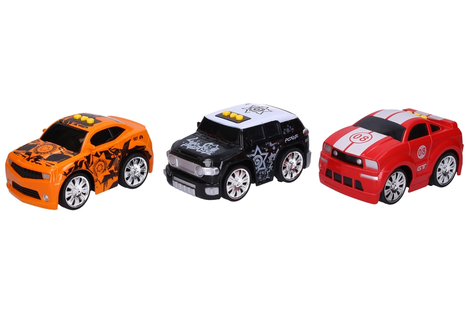 Športové auto na batérie 15cm - náhodná