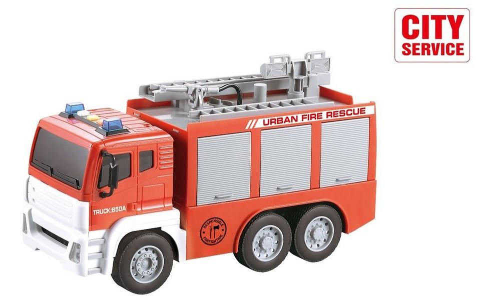 Auto hasičské s vodným delom 30cm