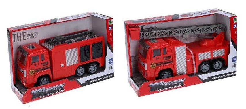 Auto hasičské na batérie 23cm - hasičské auto