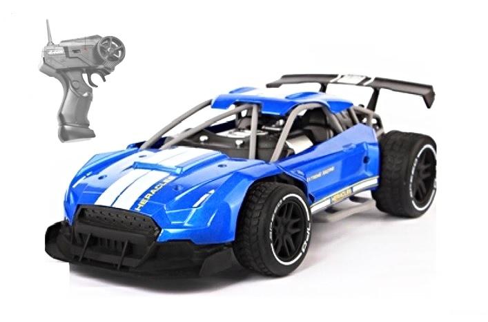Auto RC 21cm modré