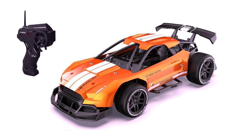 Auto RC 21cm oranžové