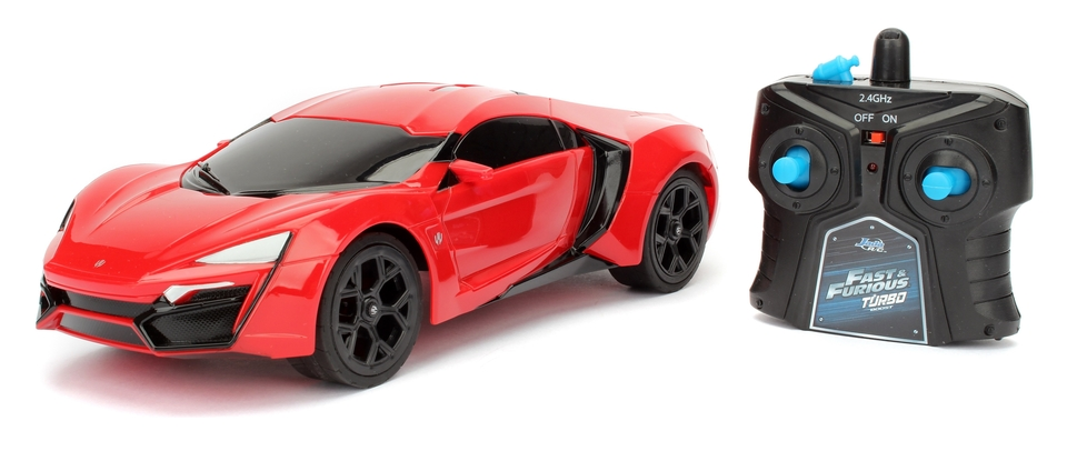Fast & Furious Lykan Hypersport 19cm RC