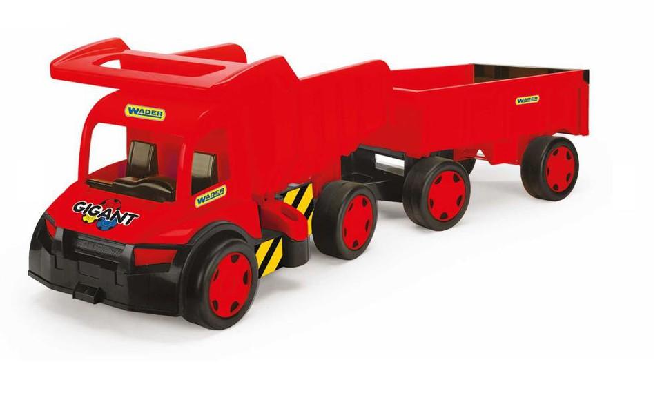 Auto nákladné s prívesom Gigant - náhodná