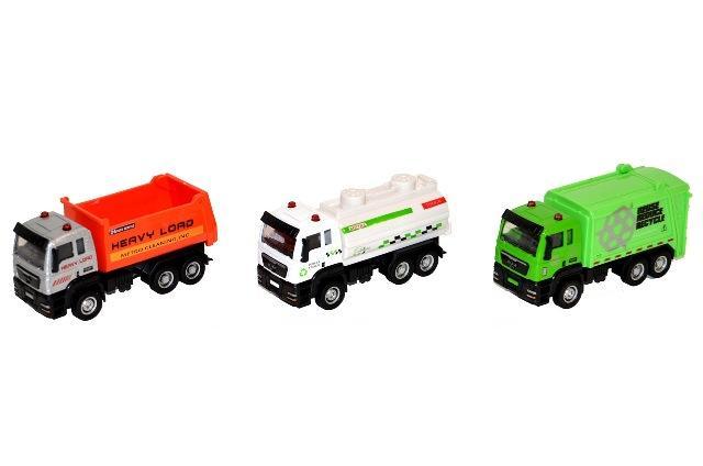 Auto nákladné kovové 12cm - náhodná