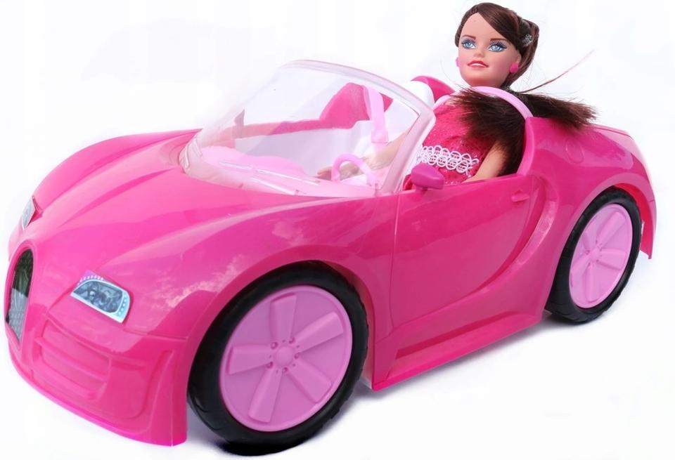 Auto plastové s bábikou