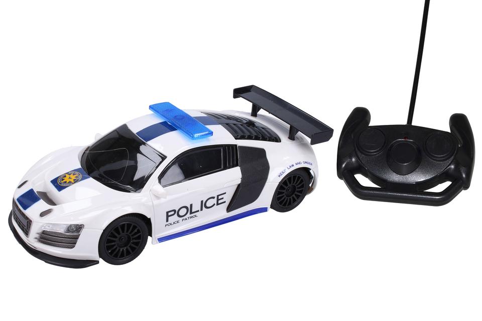 Auto policajné 24 cm RC - Audi