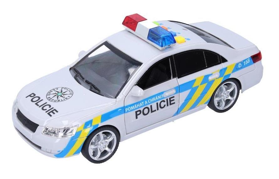 Policajné auto s efektami 24cm