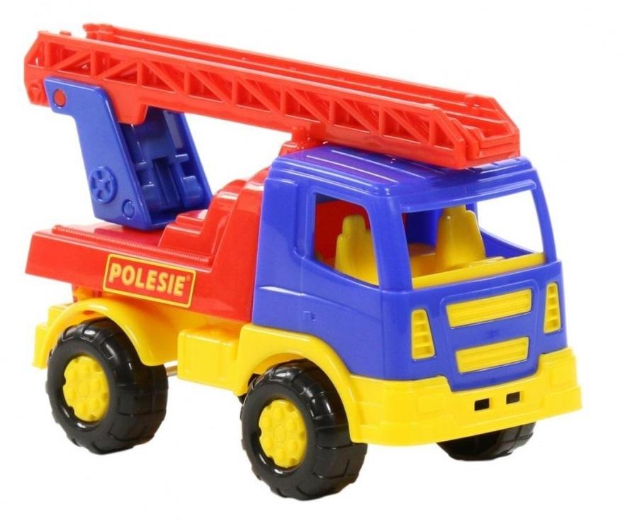 Požiarne-nákladné auto - modrá