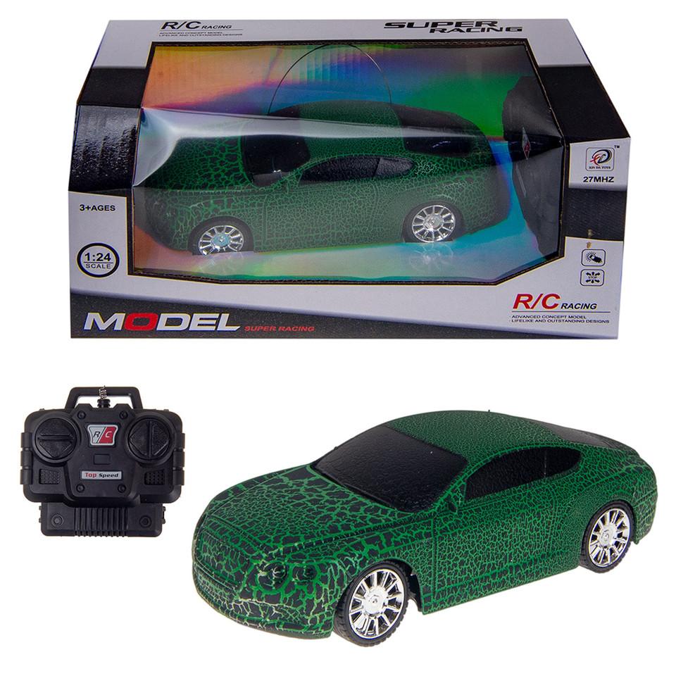 Auto racing RC 1:24 - modrá