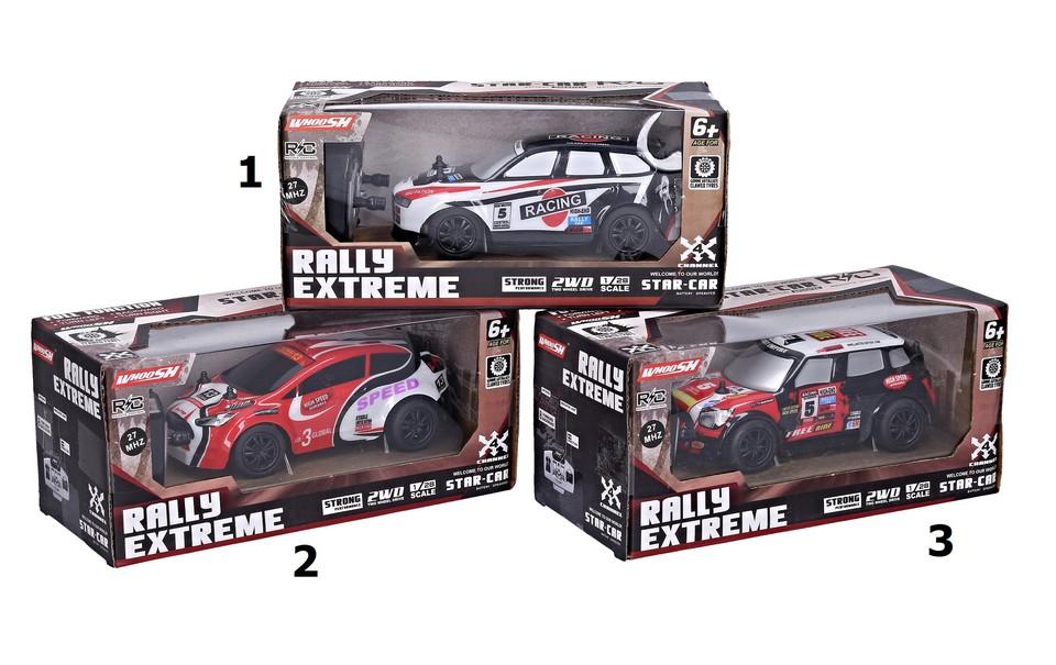 Auto rally RC 17cm