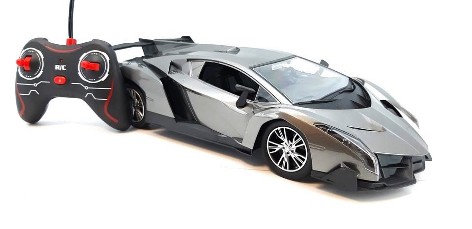 Auto RC 30cm šedé