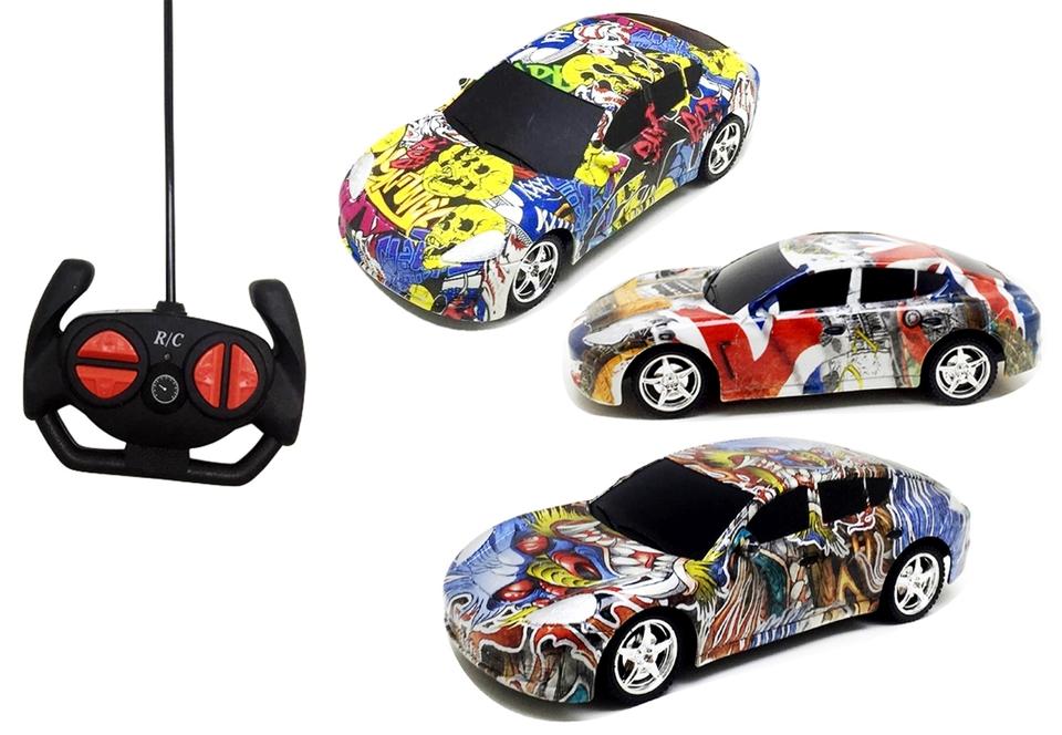 Auto s grafitmi RC 18cm