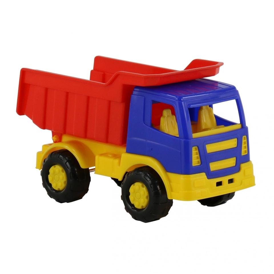 Auto nákladné vyklápacie 16cm - červená