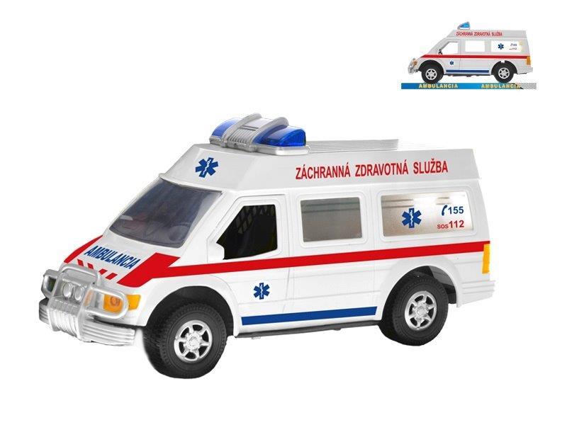 Auto ambulancia 26cm