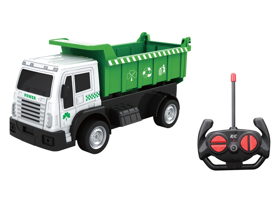 Auto smetiarske/vyklápač RC 20cm - náhodné