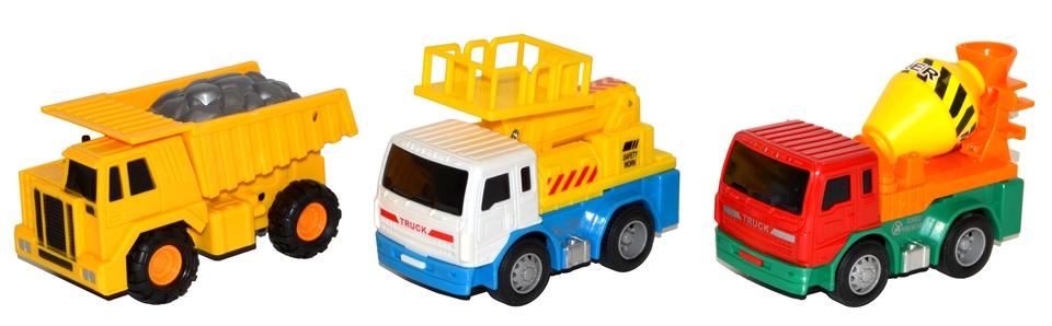 Auto stavebné 11cm - báger