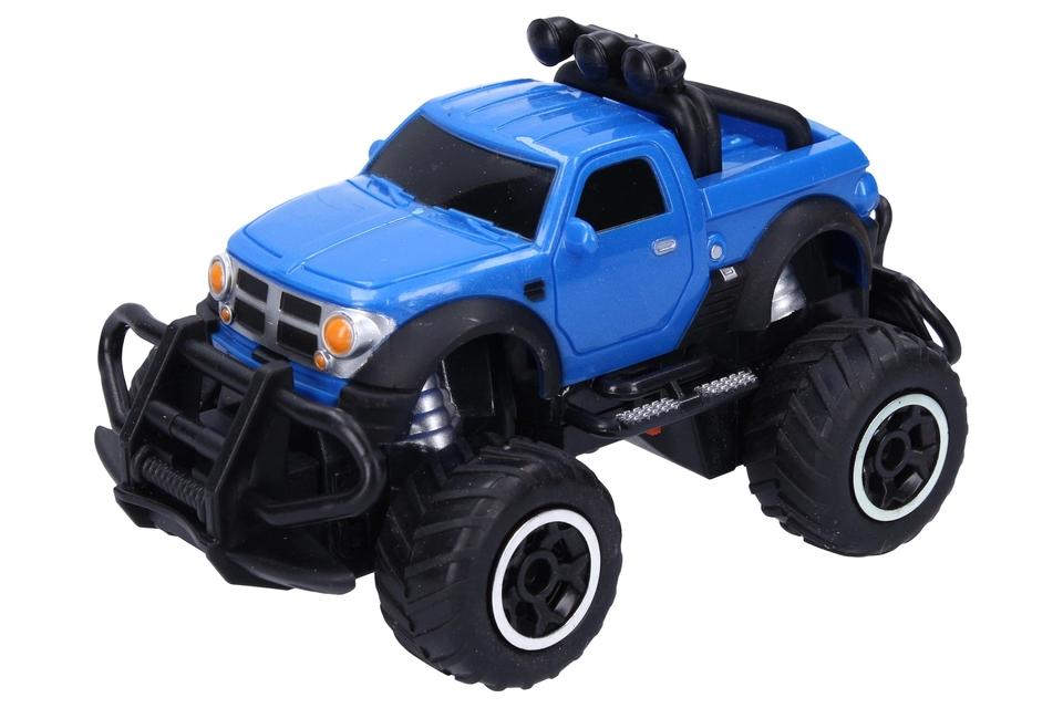 Terénne auto RC 13cm - modrá