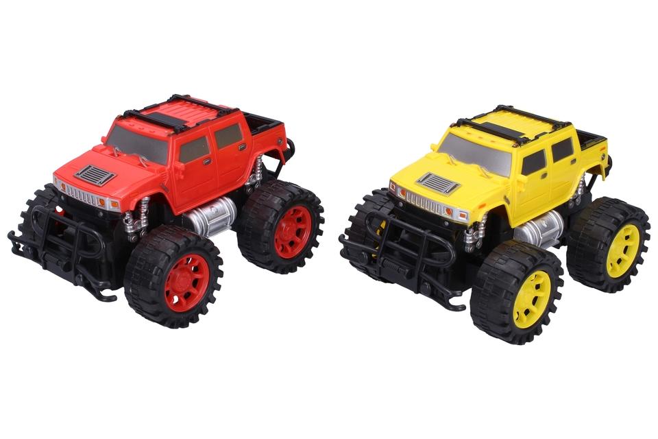 Auto terénne 18cm - červená