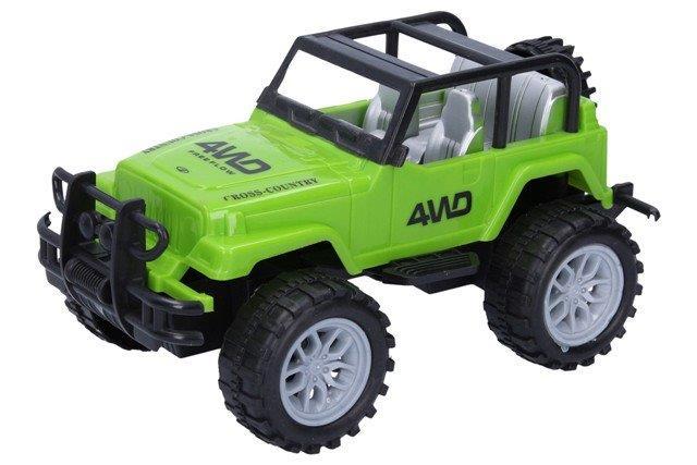 Auto terénne 20 cm - zelená