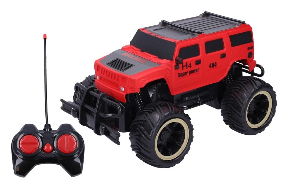 Terénne auto RC 23cm - červená