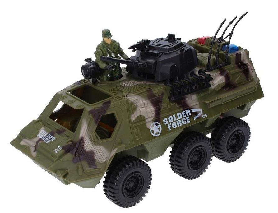 Auto vojenské Soldier Force 30cm