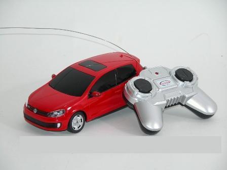 Auto Volkswagen Golf RC 16cm