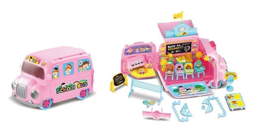 Školský autobus pre bábiky