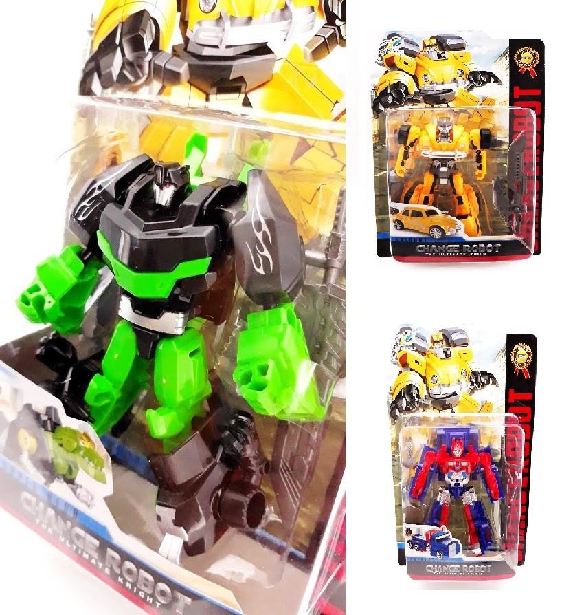 Robot Transformer 11cm - žltá