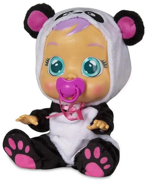 Cry Babies bábätko Pandy plačúce 30cm