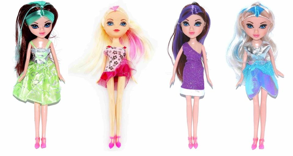 Bábika Beauty Girl 25cm - fialová