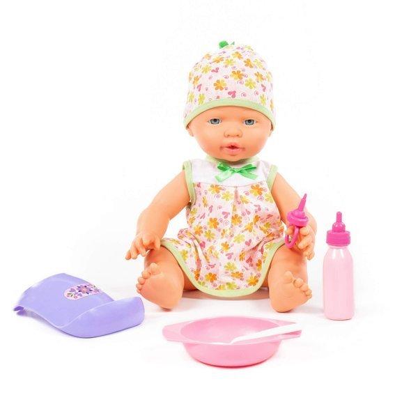 Bábika s doplnkami na kŕmenie 35cm