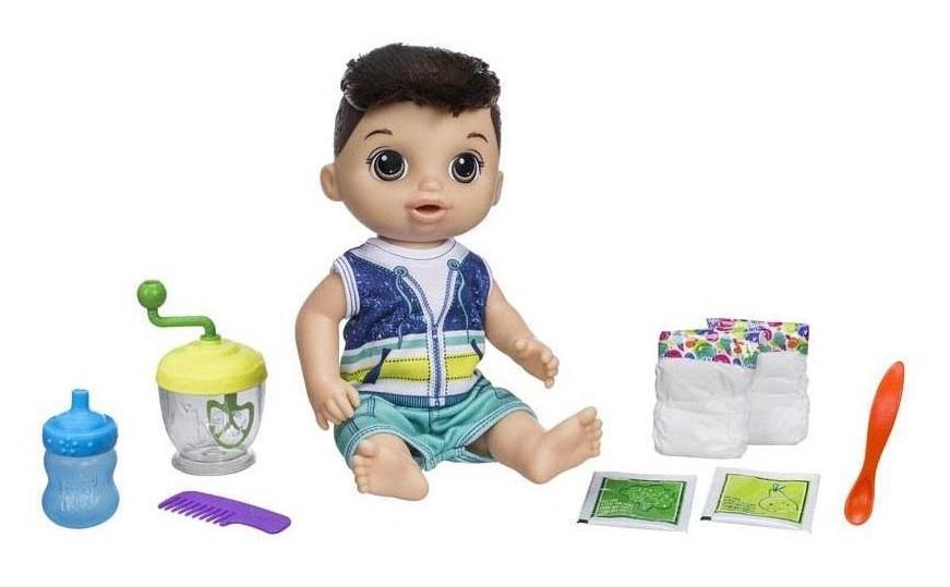 Tmavovlasý chlapec Baby Alive