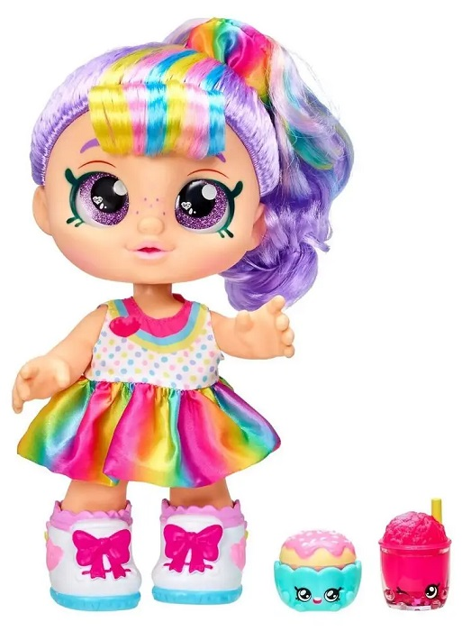 TM Toys Kindi Kids bábika Rainbow Kate