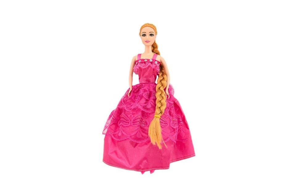 Bábika s dlhým copom 29cm