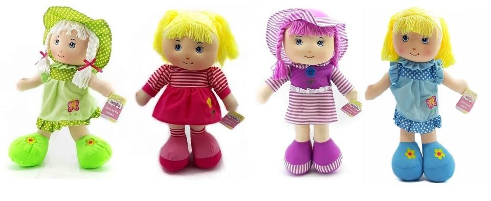 Spievajúca bábika Natálka 52cm - fialová